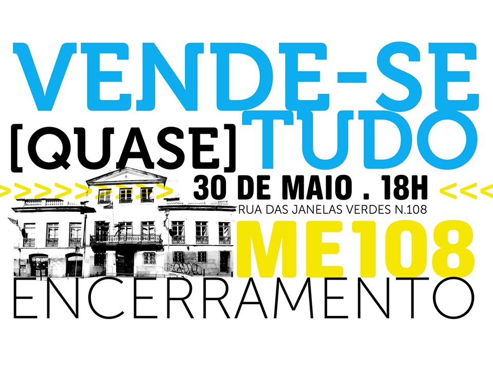 Encerramento ME108_VENDE-SE [QUASE] TUDO + FESTA
