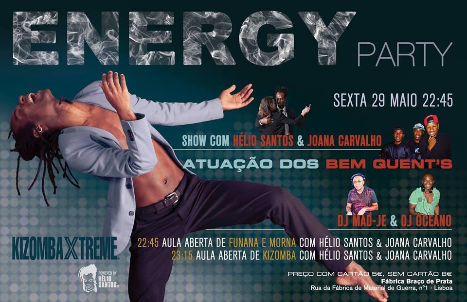 Energy Party - Fábrica Braço de Prata - 29 de Maio
