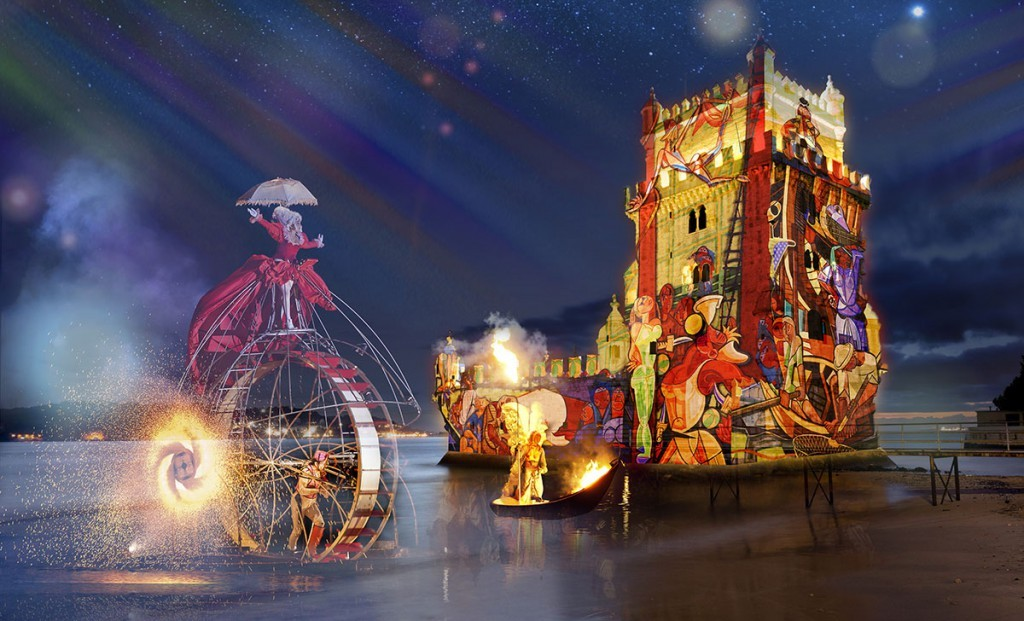 Espectaculo Abertura Festas de Lisboa Quinhentos