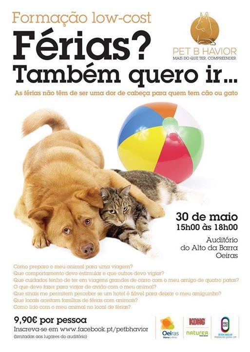 Férias com animais de estimação