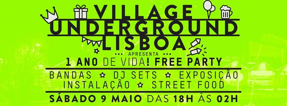 FESTA 1 ANO DE Village Underground