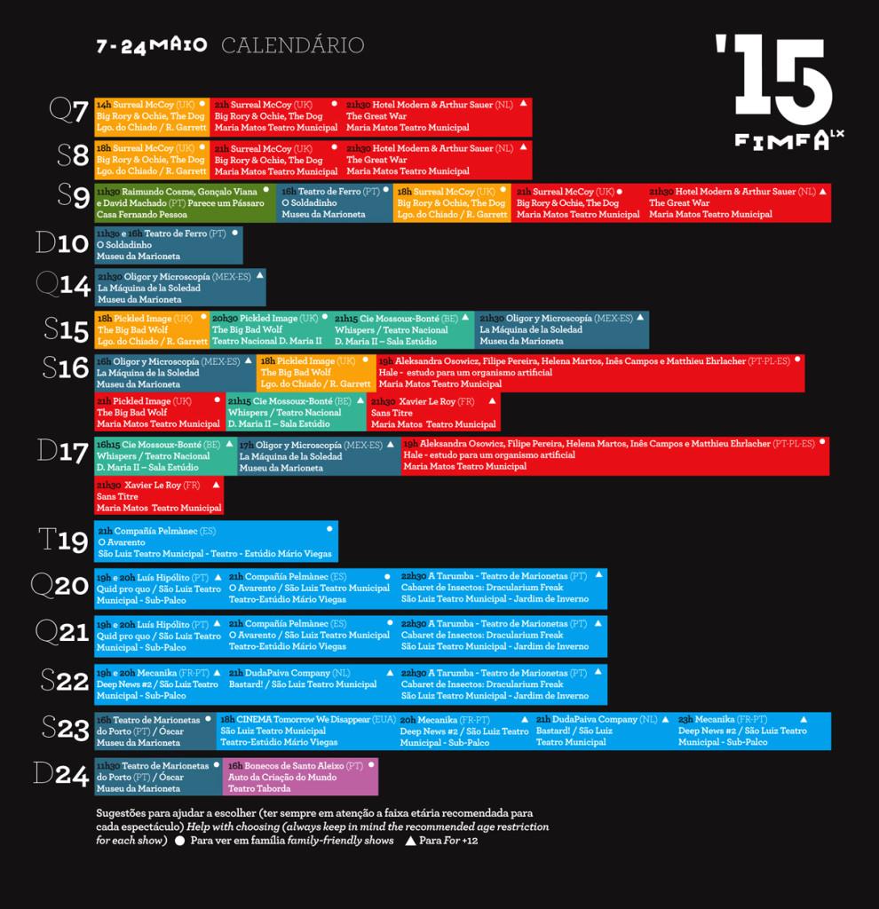 FIMFA Lx15 Calendário