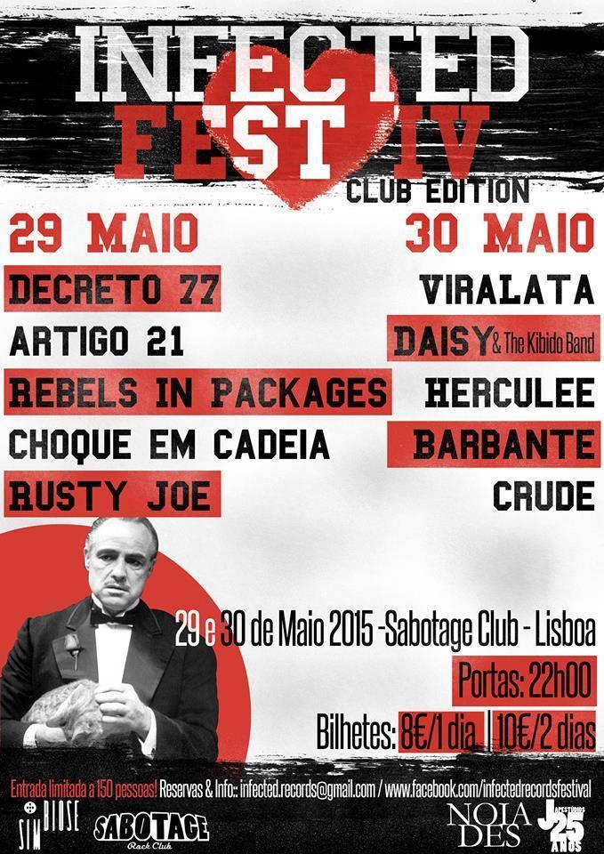 INFECTED FEST IV - Club Edition - 29 e 30 de Maio @ Sabotage Club