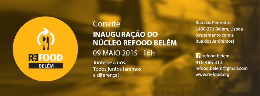 Inauguração do Núcleo Refood Belém
