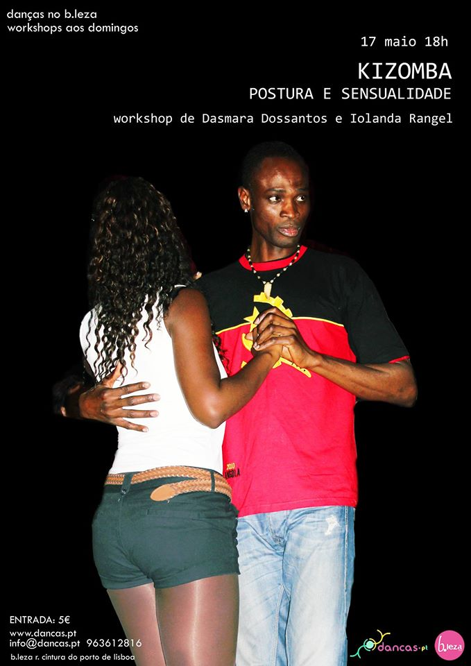 KIZOMBA - workshop de Dasmara e Iolanda
