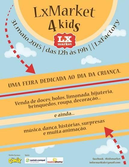 LxMarket 4 kids - 30 de Maio