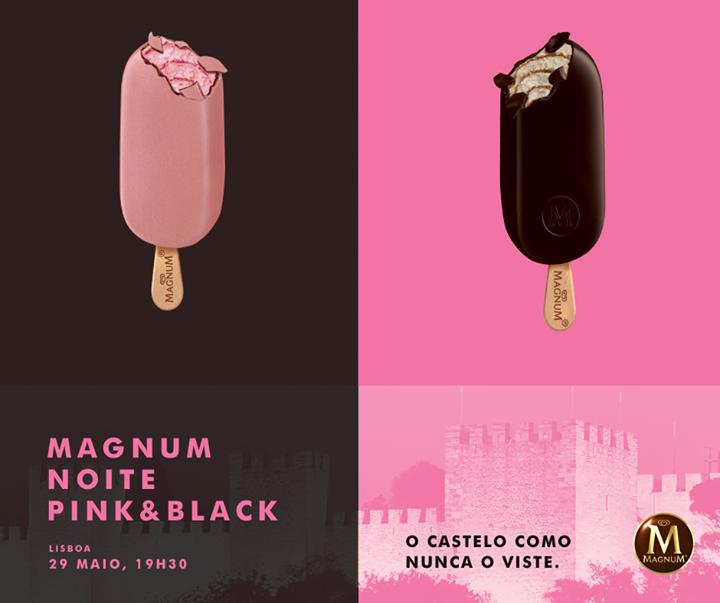 Magnum Noite Pink & Black