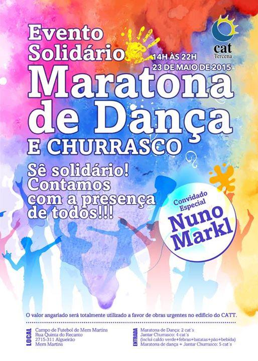 Maratona de Dança e Churrasco