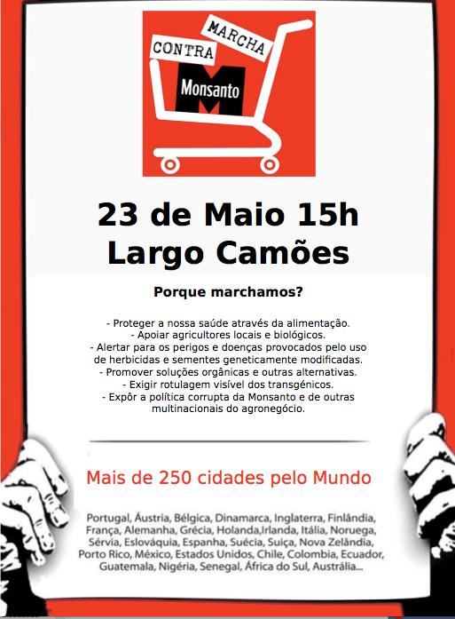 Marcha contra Monsanto - Lisboa