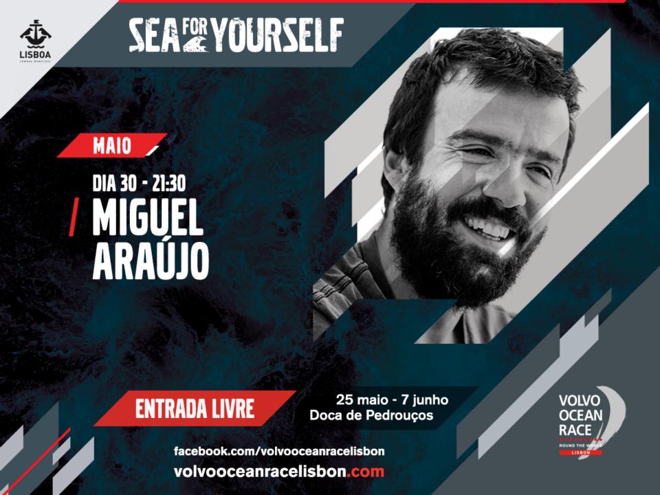 Miguel Araújo - Volvo Ocean Race Lisbon