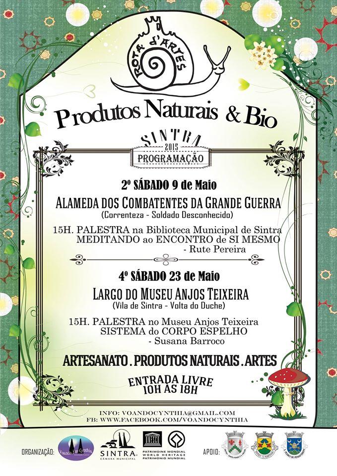 ROTA D'ARTES - Produtos Naturais & Bio Sintra 2015