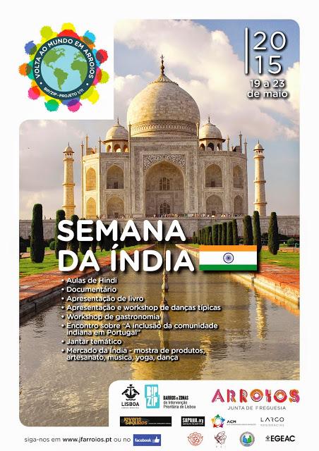Semanda da Índia - 19 a 23 de Maio