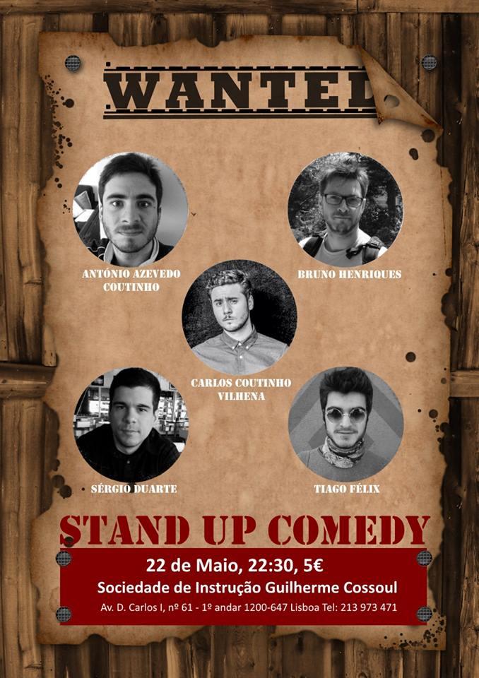 Stand-Up Comedy na Sociedade de Instrução Guilherme Cossoul