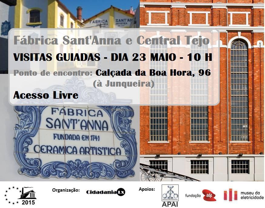 Visitas Guiadas à Fábrica Sant'Anna e à Central Tejo
