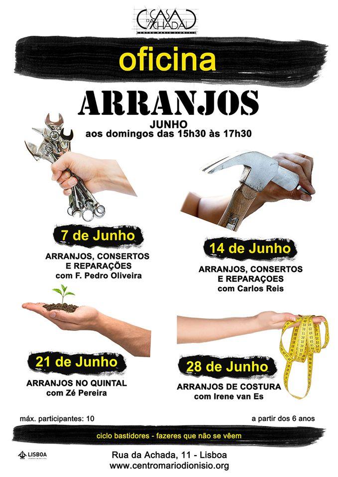 OFICINAS de ARRANJOS Centro Mário Dionísio
