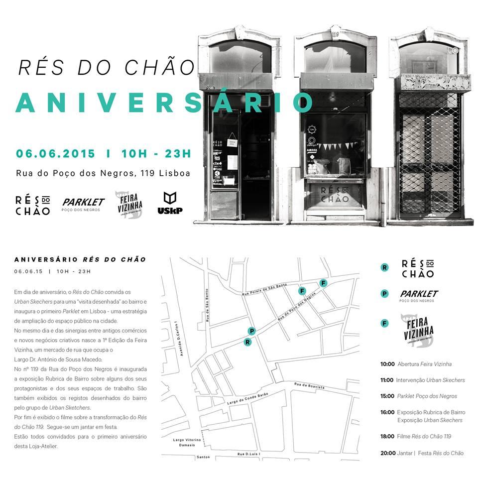 ANIVERSÁRIO RÉS DO CHÃO