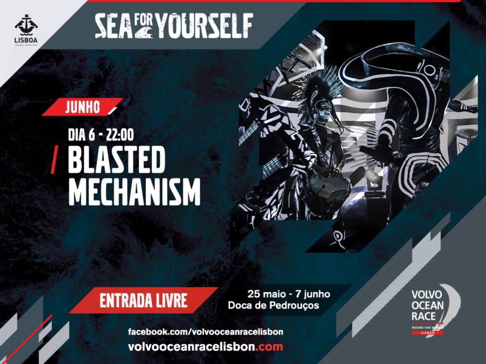Blasted Mechanism - Volvo Ocean Race Lisbon