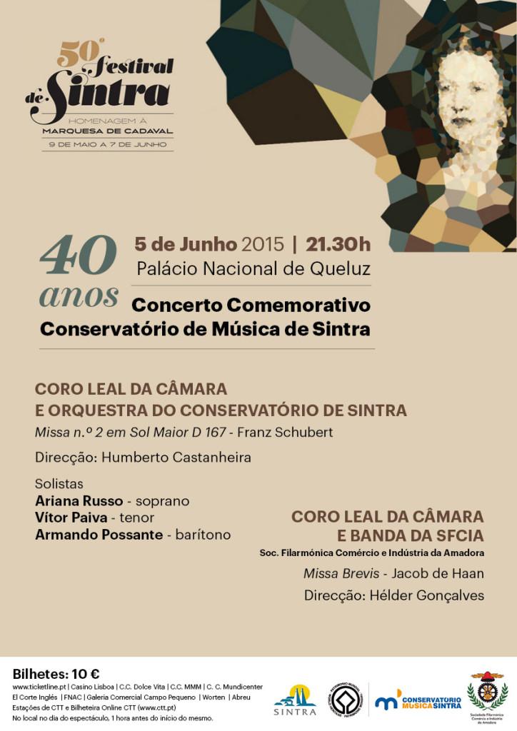 Concerto de 40 anos do Conservatório de Música de Sintra