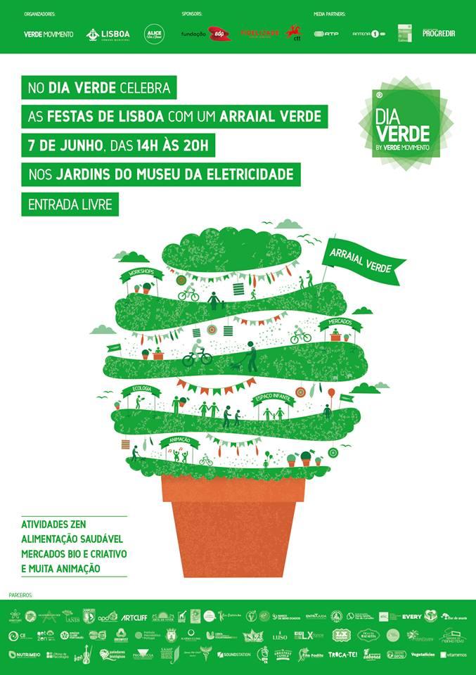 DIA VERDE - Verde Movimento - 7 de Junho - Museu da Electricidade