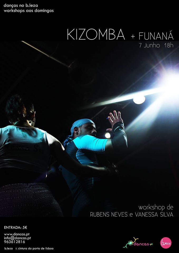 KIZOMBA + FUNANÁ Rubens Neves e Vanessa Silva