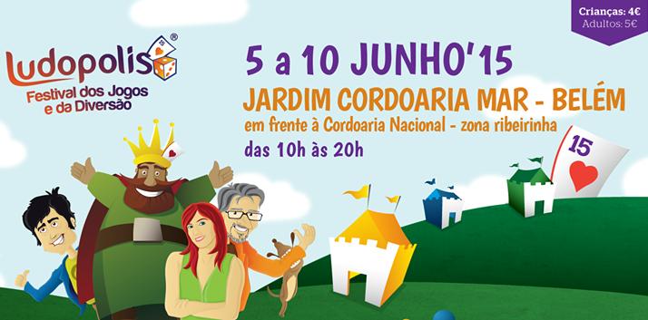 Ludopolis - 5 a 10 de Junho - Belém