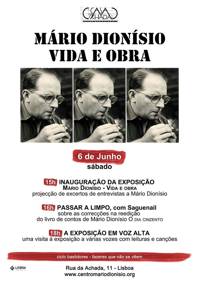 MÁRIO DIONÍSIO - VIDA E OBRA