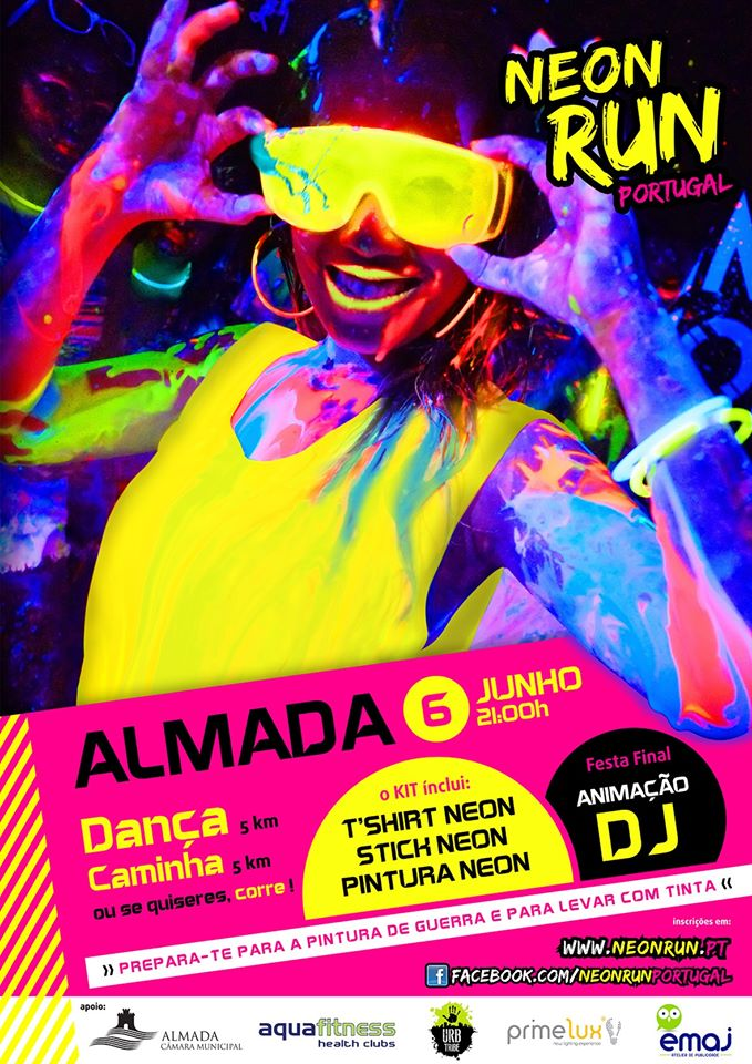 NEON RUN - ALMADA