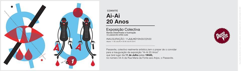 Exposição Ai-Ai 20 anos