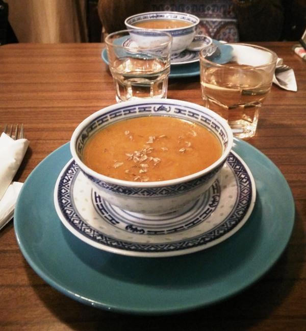 Sopa de Abóbora e Cenoura