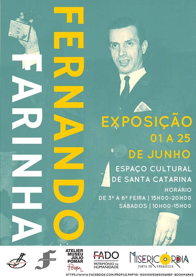 """Exposição Fernando Farinha """"A voz mais portuguesa de Portugal"""""""