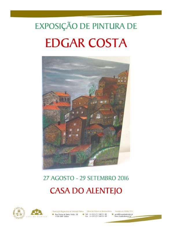 Exposição-pintura-Edgar Costa-Casa-do-Alentejo