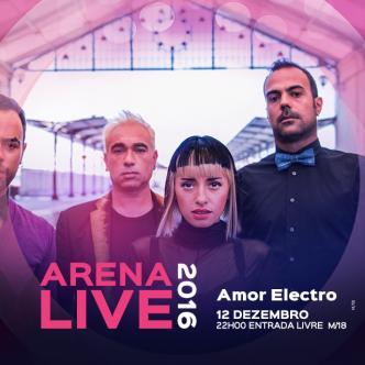 Os Amor Electro estão de volta ao Casino Lisboa para mais um grande concerto com Entrada Livre! A voz electrificante da Mariza Liz vai-te pôr a dançar!