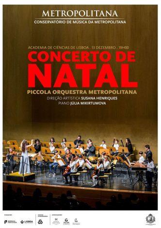 Um concerto de Natal para toda a família, com a Piccola Orquestra Metropolitana na Academia das Ciências de Lisboa. Entrada Livre!