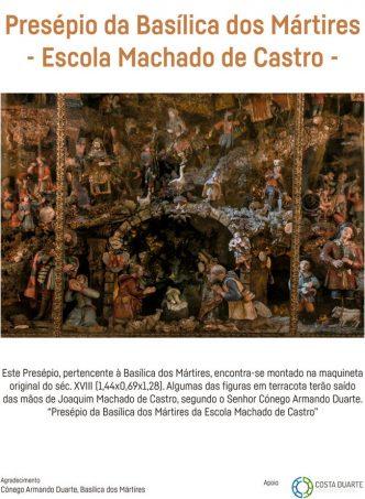 Oportunidade única de visitar o Presépio da Basílica dos Mártires no Teatro Nacional de São Carlos! Uma obra da Escola machado de Castro.