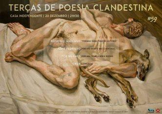 As Terças de Poesia Clandestina são um ciclo de eventos que orbitam à volta de livros. Quinzenalmente somos convidados a descobrir novos autores ;)