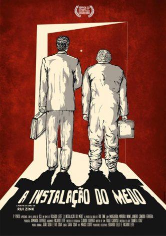 """""""A Instalação do Medo"""" de Ricardo Leite é uma das curtas em competição no Shortcutz desta semana."""