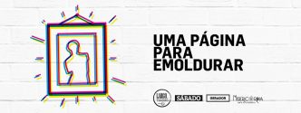 """""""Uma Página para Emoldurar"""" é um projecto em que o Gerador convida um artista português a ocupar uma página da SÁBADO com uma obra inédita."""
