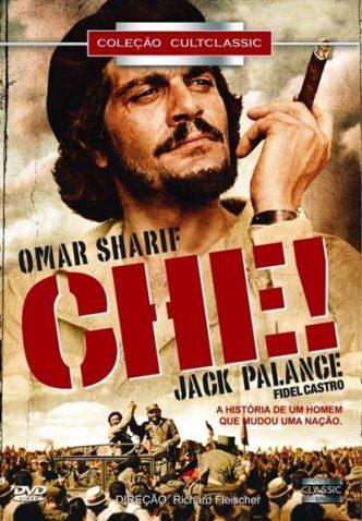 Che! de Richard Fleischer com Omar Sherif no principal papel, estará no ciclo de cinema «Revoltas e revoluções n'América» na casa da Achada.