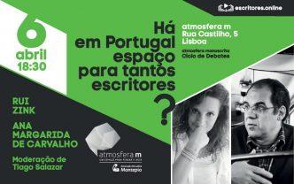 Há espaço para tantos escritores? Será Portugal um país pequeno para tanto talento literário? É o tema do debate promovido pelo site www.escritores.online