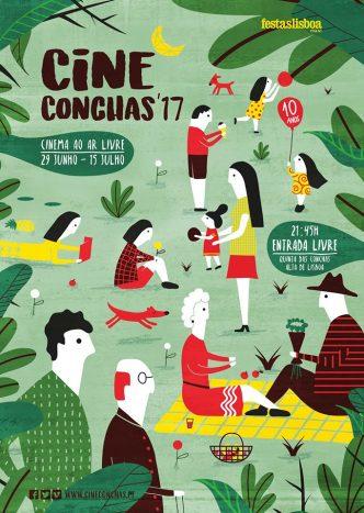 Cineconchas - Cinema ao Ar Livre para todos com todos na Quinta das Conchas. Quintas-feiras, Sextas-feiras e Sábados de 29 de Junho a 15 de Julho :)