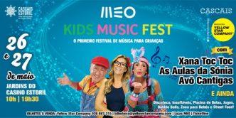 O Meo Kids Music Fest vai invadir os Jardins do Casino Estoril este fim de semana! Estas e outras sugestões para crianças no Eléctrico 28!