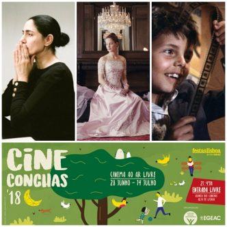 Na segunda semana do Cineconchas, temos 3 filmes incríveis para ver ou rever! Qual será a tua escolha?