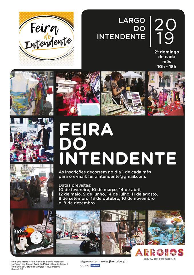 Feira do Intendente - Lisboa - Datas de 2019
