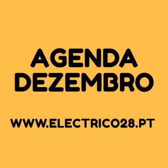 Agenda de Dezembro no blog Eléctrico 28