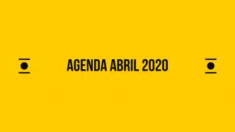 Agenda online de Abril