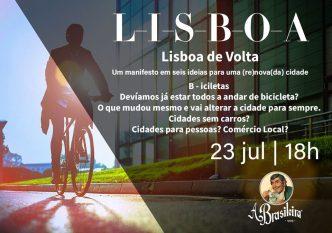 Debates na Brasileira - Lisboa - Bicicletas