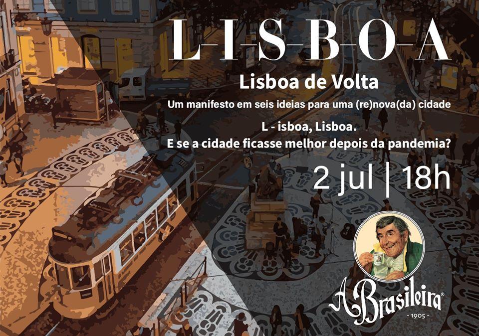 Debates na Brasileira - Lisboa de volta